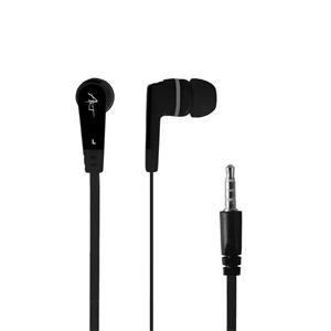 ART earbuds headphones with microphone S2B black smartphone/MP3/tablet