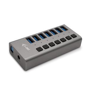 i-tec USB 3.0 Charging HUB 7port s Power Adaptérom 36W 7x USB 3.0 nápajací port