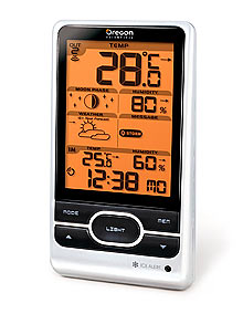 OREGON SCIENTIFIC BAR208HG Weather Station with Humidity