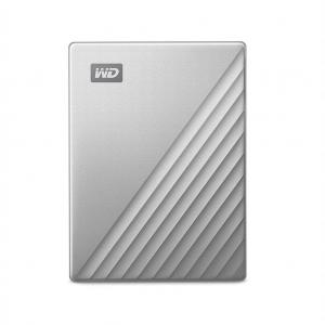 External HDD WD My Passport Ultra 2.5'' 1TB USB3.1 Silver Worldwide