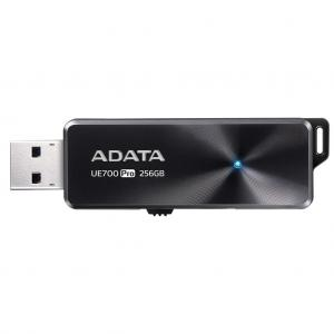Adata USB 3.1 Flash Drive UE700 Pro 256GB, R/W 360/180 MB/s BLACK