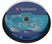 CD-R Verbatim [ cakebox 10 | 700MB | 52x | DataLife ]
