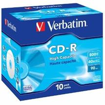 CD-R Verbatim [ jewel case 10 | 800MB | 40x | DataLife ]