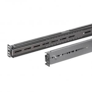 Netrack sliding rails for server case RACK 19'', 55-100cm depth