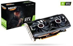 INNO3D GEFORCE RTX 2060 SUPER TWIN X2 OC, 8GB GDDR6, 3xDP, HDMI