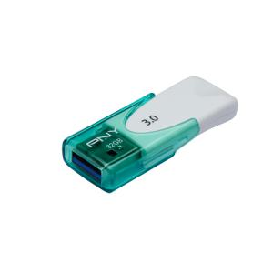 PNY memory USB Attache 32GB USB 3.0 White and Green