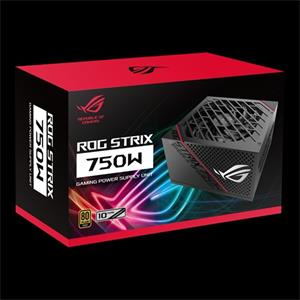 ASUS ROG -STRIX-750G The ASUS ROG Strix 750W Gold PSU brings premium cooling performance to the mainstream