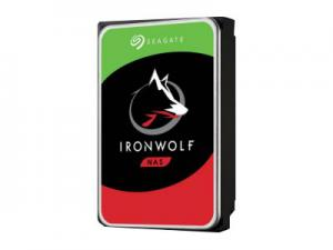 SEAGATE NAS HDD 6TB IronWolf 5400rpm 6Gb/s SATA 256MB cache 3.5inch 24x7 for NAS and RAID Rackmount systems BLK