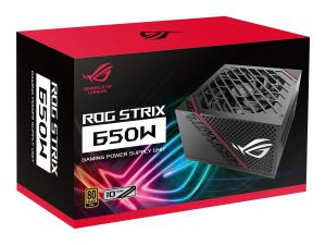 ASUS ROG -STRIX-650G The ASUS ROG Strix 650W Gold PSU brings premium cooling performance to the mainstream.