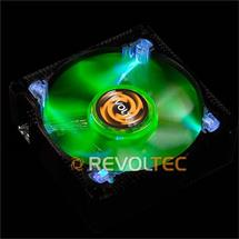 Revoltec Metal AirGuard, Neon Edition 80 fan (RL030)