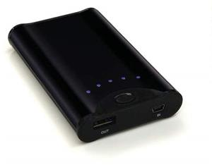 IDOWELL USB PORTABLE BATTERY PACK Black