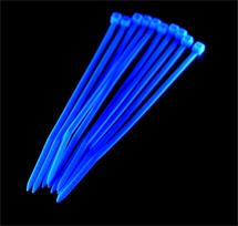 PRIMECOOLER PC-CT25100 Cable Ties 2,5x100mm UV Blue (set of 10pcs)