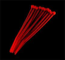 PRIMECOOLER PC-CT25100 Cable Ties 2,5x100mm UV Red (set of 10pcs)