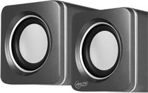 ARCTIC S111 (Silver) - Portable USB powered speakers