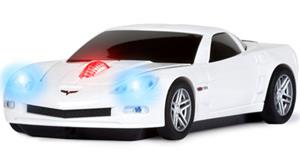 ROADMICE Wireless Mouse - Corvette (White) Wireless
