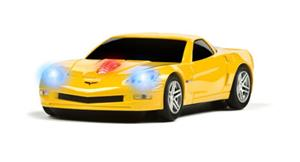 ROADMICE Wireless Mouse - Corvette (Yellow) Wireless