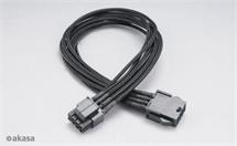 AKASA AK-CBPW08-40BK Flexa P8, 40cm 8 pin ATX12V power cable extension