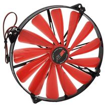 Ventilátor AIREN FAN RedWingsGiantExtreme 200 LED RED (200x200x20mm)