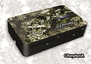 ED HARDY Tattoo Card Reader Allover 2 - Army
