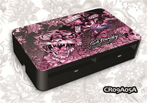 ED HARDY Tattoo Card Reader Allover 2 - Pink