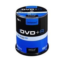 DVD+R Intenso [ cake box 100 | 4.7GB | 16x ]