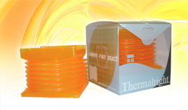 THERMALRIGHT Fan Duct 120mm Orange