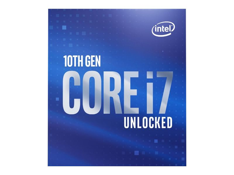 INTEL Core I7-10700K 3.8GHz LGA1200 16M Cache Boxed CPU