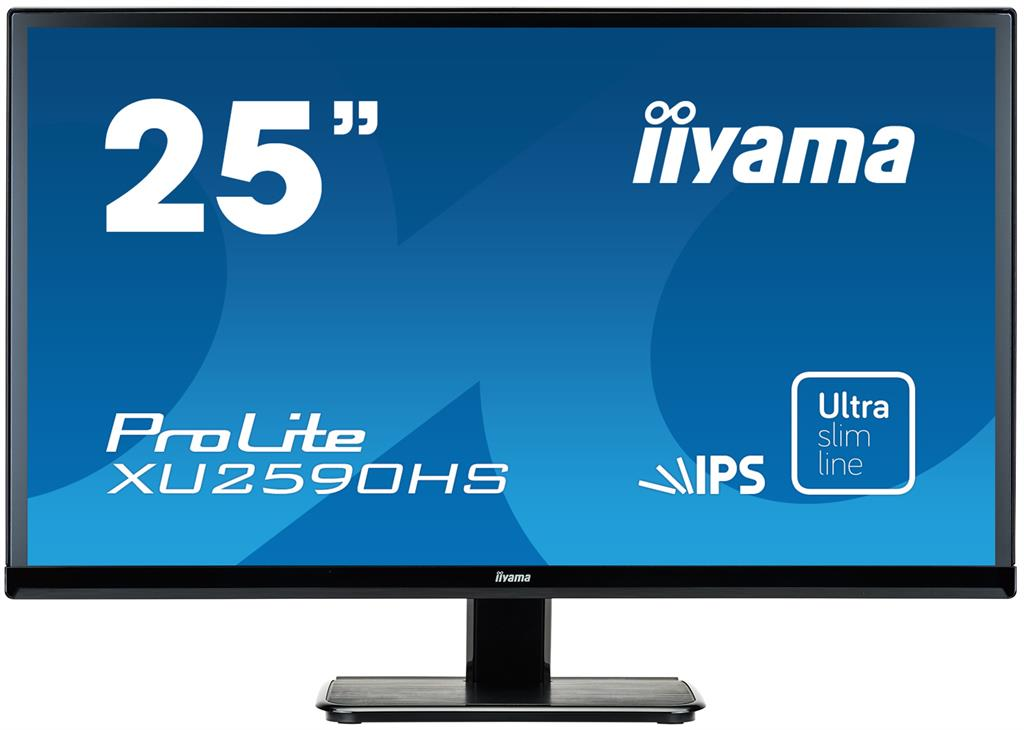 Monitor Iiyama XU2590HS-B1 25'', TN, Full HD, 5ms, DVI, HDMI, speakers