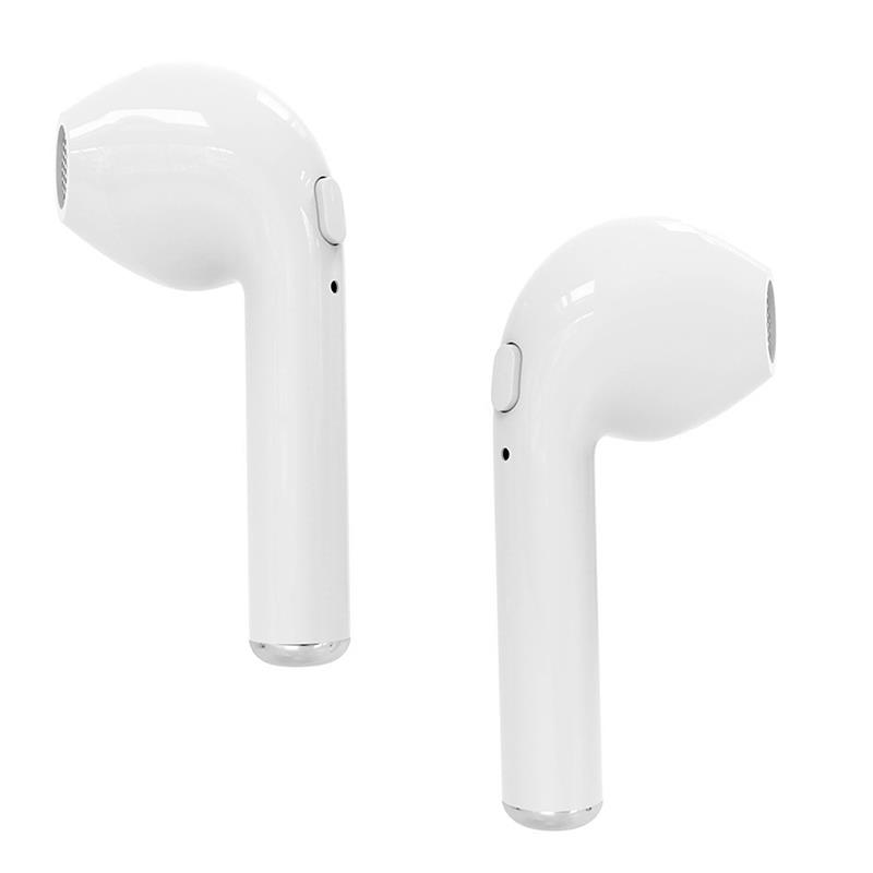 R-PHONES- Bluetooth headset TWS with powerbank. White